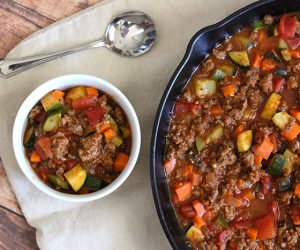 Paleo Chili Recipe No beans, grain free via SuperGlueMom
