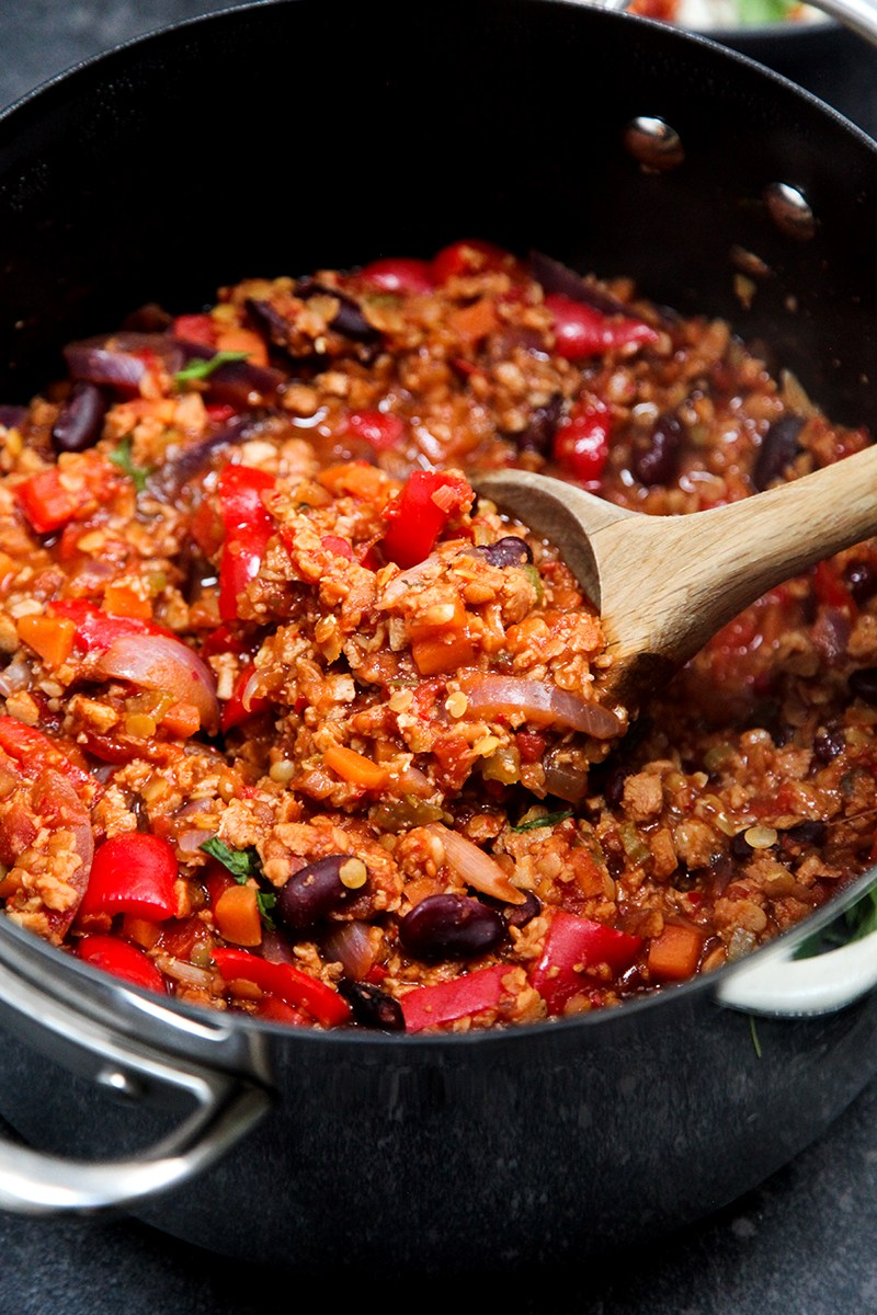 Easy #Vegan Chilli Sin Carne #vegetarian #dinner