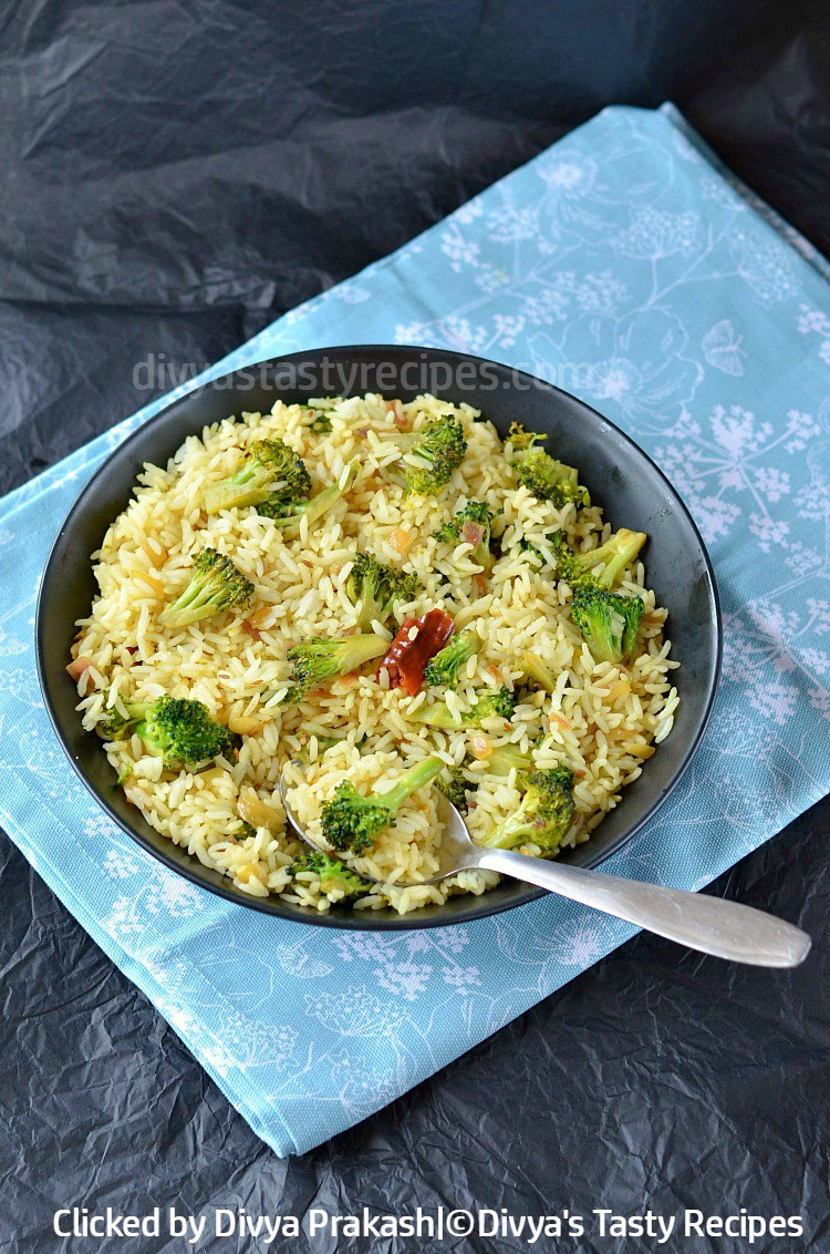 lemon broccoli rice, broccoli lemon rice