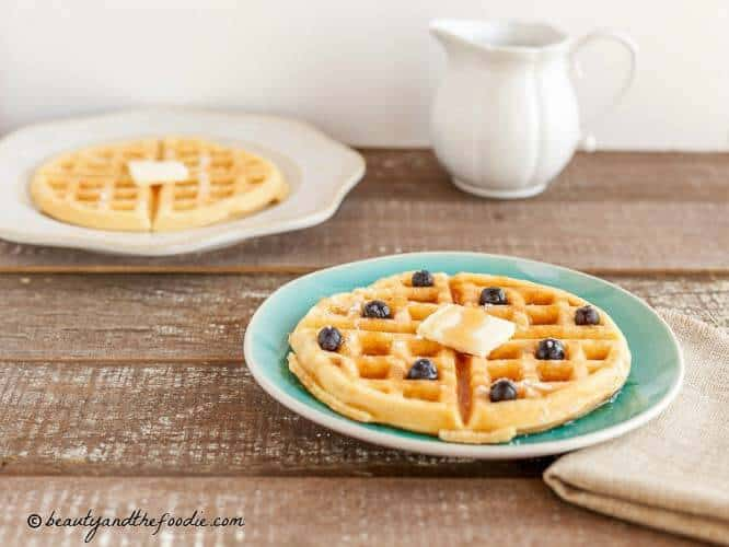 Low-carb Buttermilk Waffles
