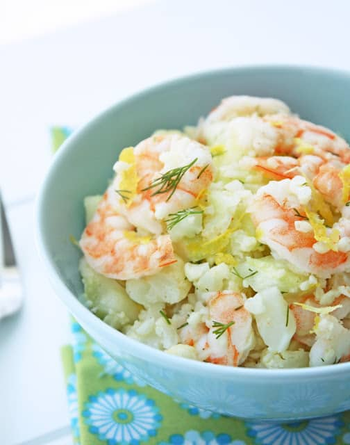 Shrimp and Cauliflower Salad