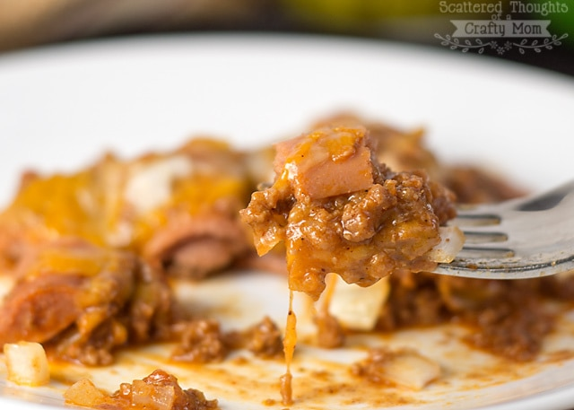Low Carb Chili Dog Casserole: Ditch the carbs with this Keto Chili Dog Casserole!