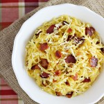 Bacon-Parmesan Spaghetti Squash by Home Cooking Memories