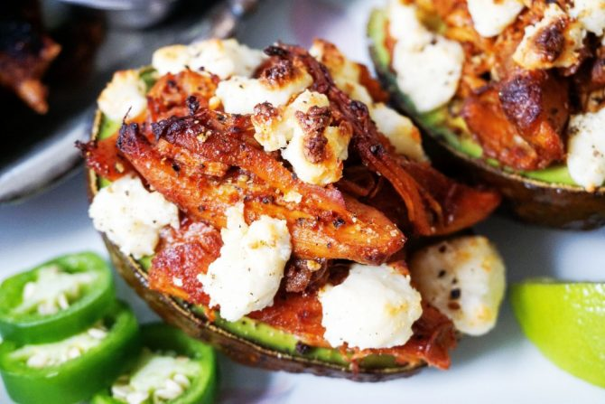 stuffed avocado final close