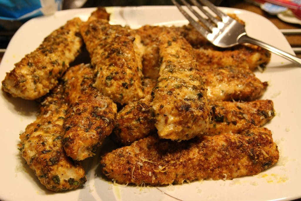 Deliciously crispy and packed full of flavor, these chicken tenders will amaze you!