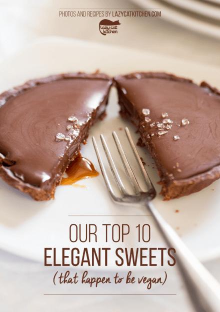elegant sweets vegan